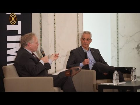 One-on-one with Mayor Rahm Emanuel