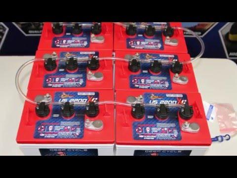 U.S. Battery EV Deep Cycle Batteries