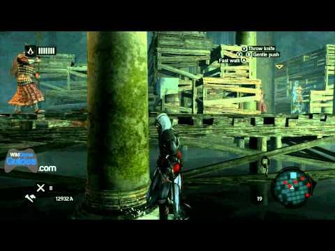 Assassin's Creed Revelations 100% Synch Walkthrough - Sequence 3 - Memory 6 - The Yerebatan Cistern