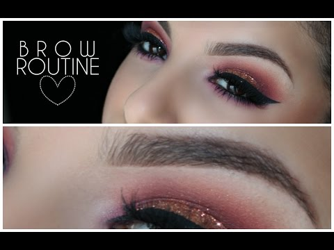 HOW TO: Full Defined Brows   Updated Routine   Makeup By Leyla
