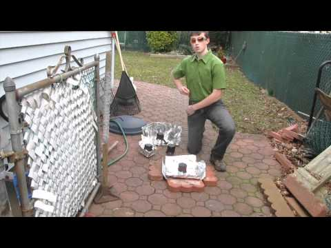 Cheap Solar Water Purification for Emergencies