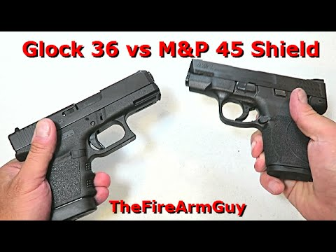 M And P Shield Vs Xds Springfield XDS 45 vs ...