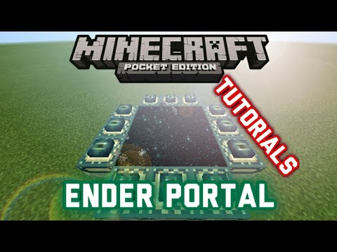 how to create a end portal