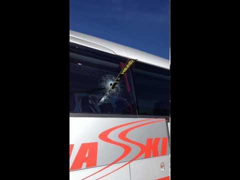 Cuche macht Bus kaputt! :-)