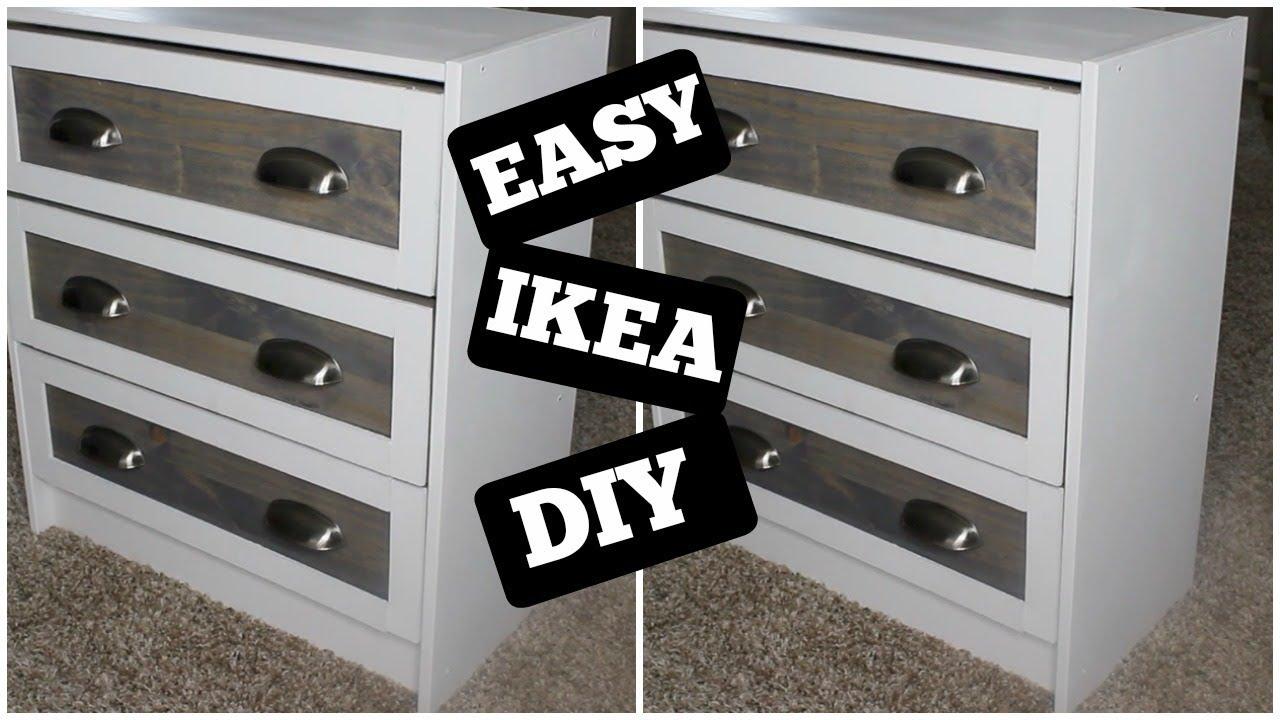 DIY BED SIDE TABLES | IKEA RAST HACK