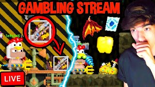 ULTIMATE GAMBLING LIVESTREAM! - Growtopia