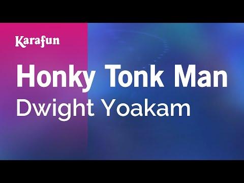 Karaoke Honky Tonk Man  Dwight Yoakam *