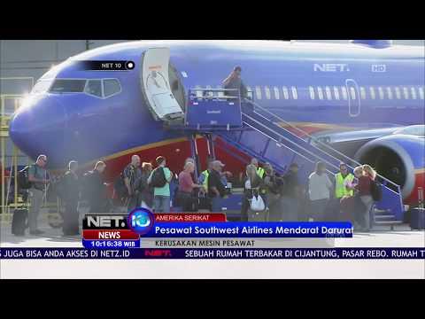 Pesawat Southwest Airlines Mendarat Darurat  -NET10