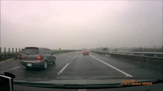 12/08 高速公路遇法拉利群,聲浪完全是天籟.wmv