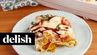 Caprese Chicken Lasagna  Delish