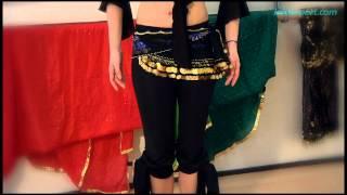 Danza Oriental 8. movimientos arriba y abajo de cadera (Shimmy)