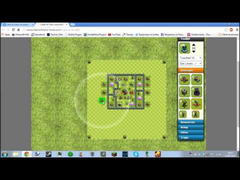 Clash Of Clans Simulator! Build your custom base!