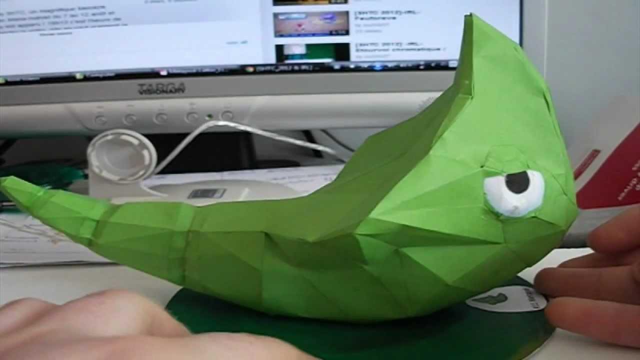 Papercraft Papercraft Timelapse: Metapod