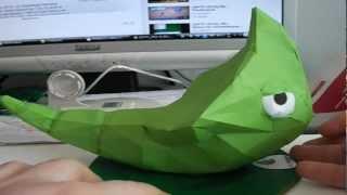 Papercraft Timelapse: Metapod