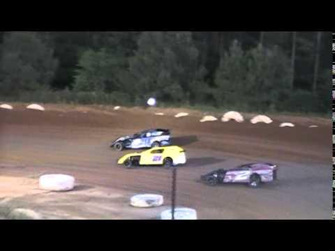 Crowley's Ridge Raceway 6/14/2014 #21 Chris Sims Modified Heat Race