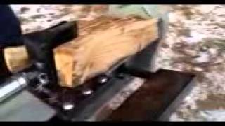 American Made Commercial Log Splitter