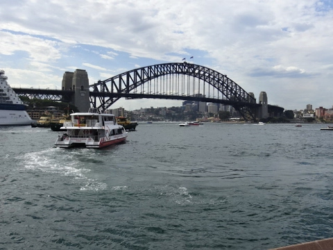 Sydney Harbour - Opera House to Bridge Walk, Australia