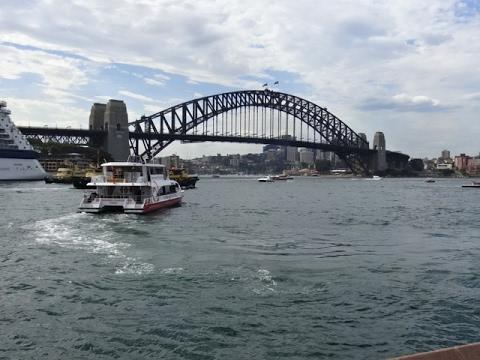 Sydney Harbour - Opera House to Bridge Walk, Australia