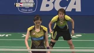 funny badminton woon khe wei playing without racket