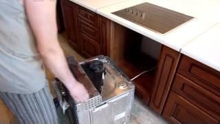 Установка кухни мебельной фабрикой