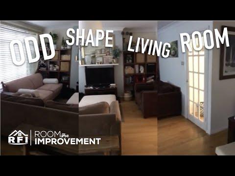 Oddly Shaped Living ROOM FOR IMPROVEMENT   Design Time