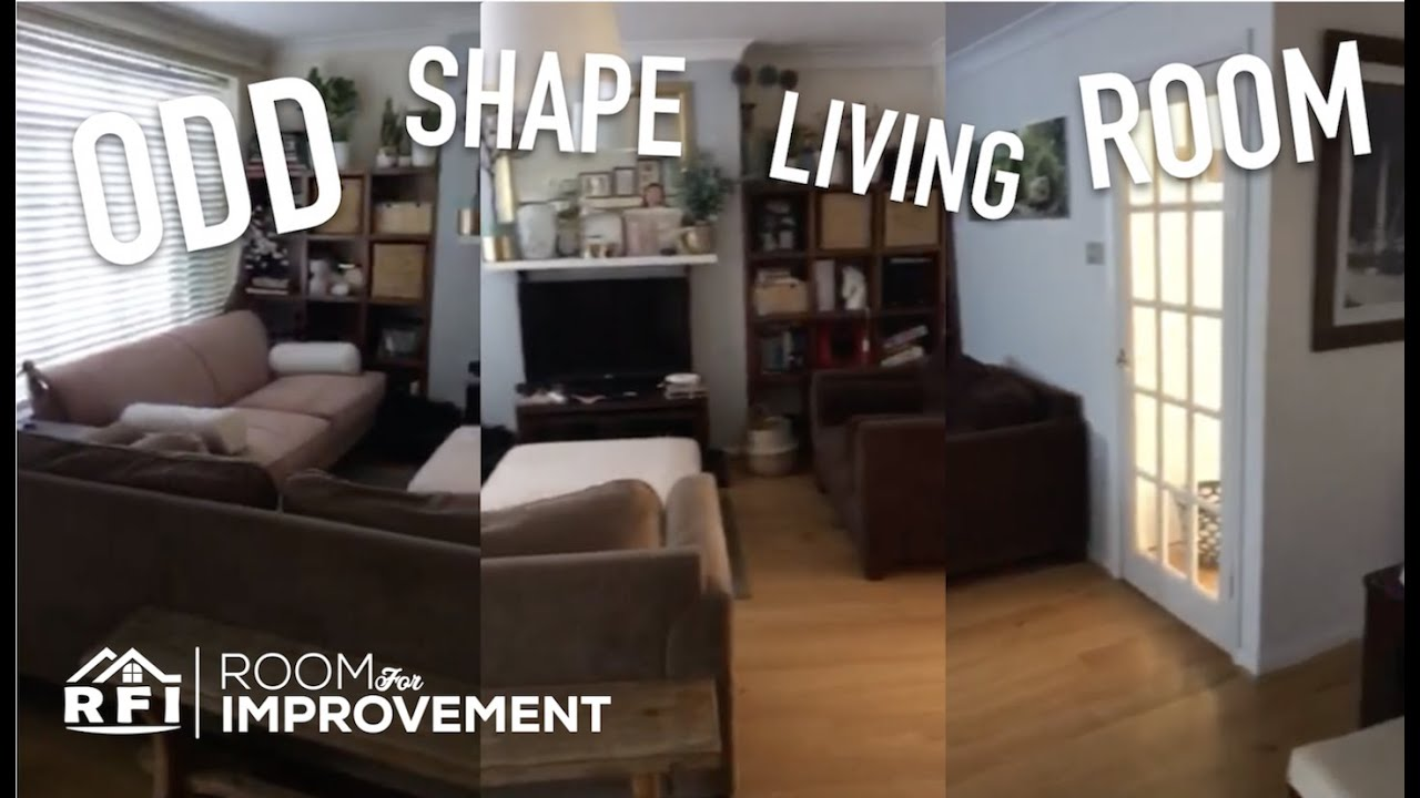 Oddly Shaped Living Room For Improvement Design Time Youtube