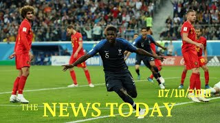 Umtiti Header Sends Streetwise France Into World Cup Final | News Today | 07/10/2018 | Donald Trump