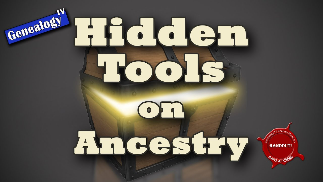 Hidden Tools on Ancestry com