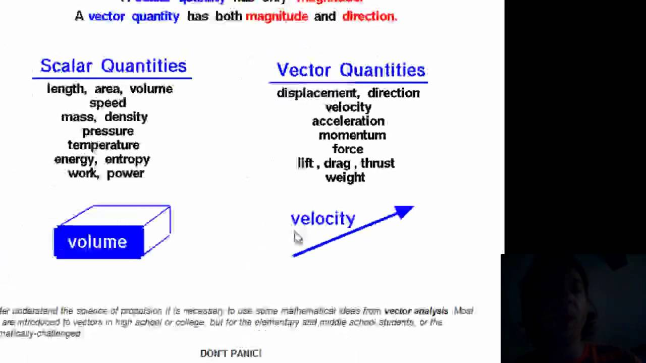 scalars and vectors nasa - photo #4