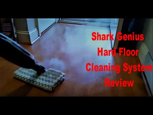Shark Genius Hard Floor Cleaning System Review And In Action Youtube