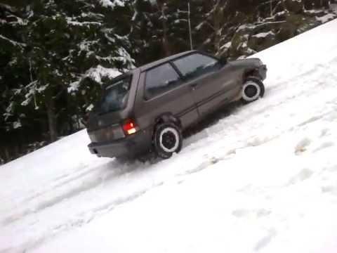 Subaru justi 4x4 do sjezdovky