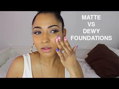 dewy finish foundation