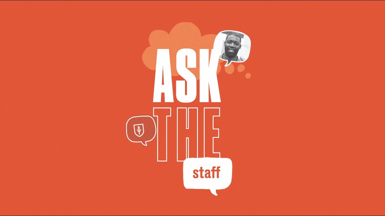 Ask The Staff - Warren Goings
