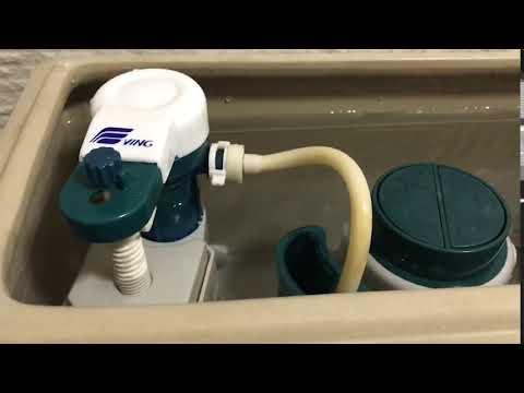 廁所馬桶水箱一直有漏水聲維修修理 ----預約制花蓮臺北良心水電維修修理工程行 - YouTube
