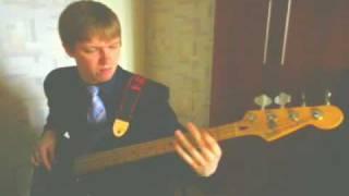 �������� ���� Бас гитара фанк слэп (Bass guitar - Romik Ostapenkovich) ������