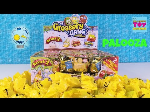 Grossery Gang Series 2 Palooza New Characters Found 2 Pack Opening Toy Review | PSToyReviews
