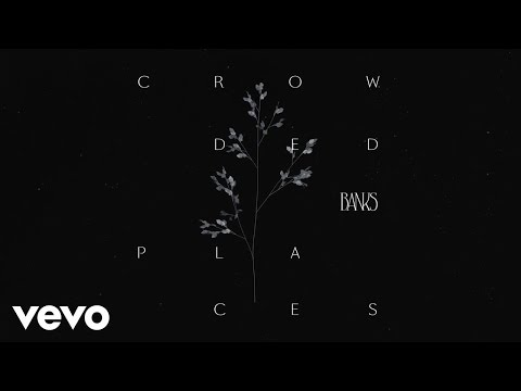 BANKS - Crowded Places (Visualizer)