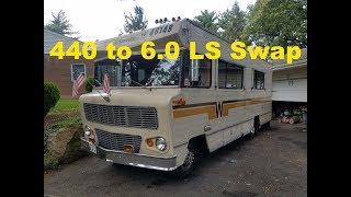 LS Swapped Winnebago - Part 1 - Mopar to Chevy swap