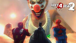 Left 4 Dead 2: SUPERHÉROES en el CIRCO DE LA MUERTE! | L4D2 con Amigos (Funny Moments)