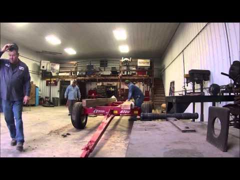 Building a hay wagon pt 1