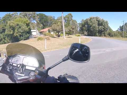 Beautiful South Gippsland on an old GPZ 2 up