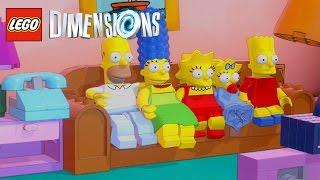 LEGO DIMENSIONS #04 - OS SIMPSONS [Legendado em Português]