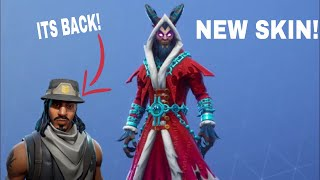 NEW KRAMPUS SKIN AND BRAT CATCHER PICKAXE IN FORTNITE (INFILTRATOR SKIN IS BACK!)