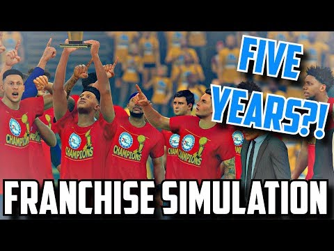 CAN THE SIXERS WIN A CHAMPIONSHIP IN FIVE YEARS?!? NBA 2K17 FRANCHISE SIMULATION #TrustTheProcess
