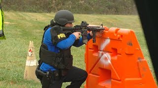 Cincinnati Police holds SWAT team tryouts for officers