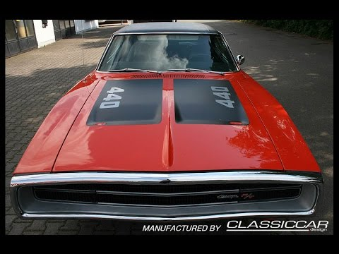 1970 Dodge Charger R/T 440 MAGNUM 7.2l V8 375PS BIG BLOCK - SOUND VIDEO