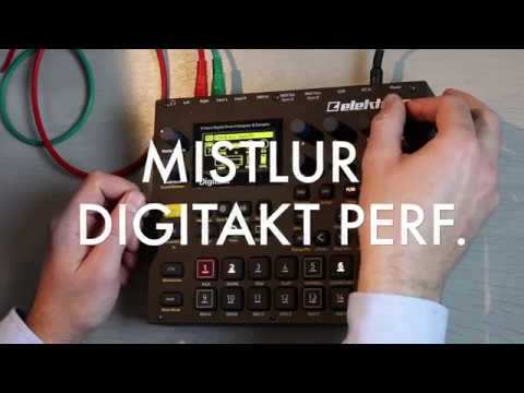 Digitakt - Mistlur - Ambient Chillstep Live Performance
