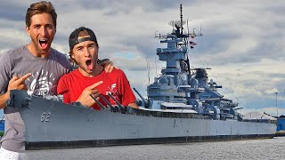 Hide N Seek in 1 BILLION DOLLAR Battle Ship!