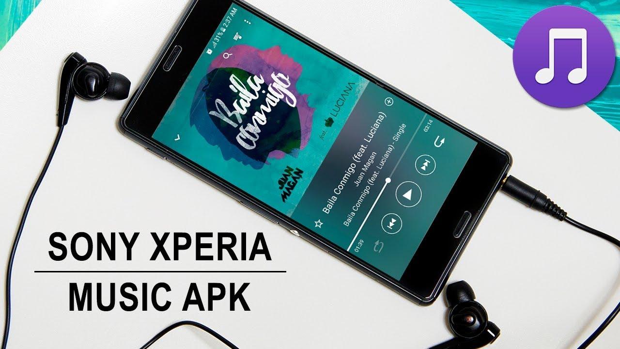 Instala Xperia Music el Reproductor de SONY en Cualquier Android   Ultima  Versión 2018