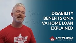 Disability Benefits on a VA Home Loan Explained | Low VA Rates